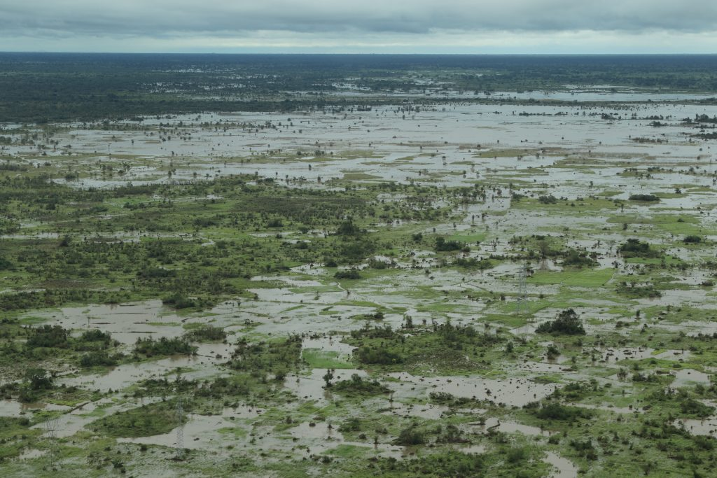 Floods can cause potential famines