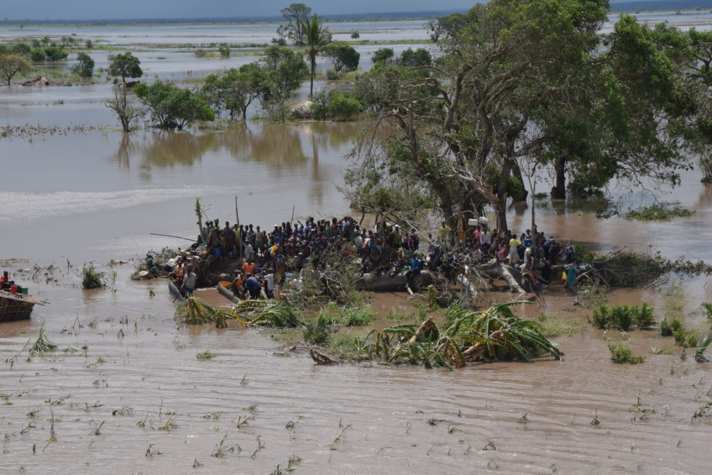 2019 Annual Report - Cyclone IDAI (courtesy of Mercy Air).